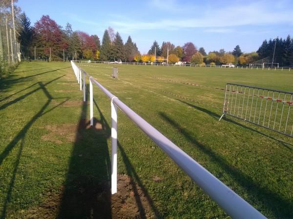 Main courante Terrain Rugby Arpajon sur Cère