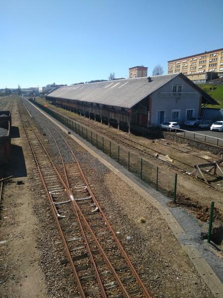 Gare SNCF Panneaux rigides 500 m